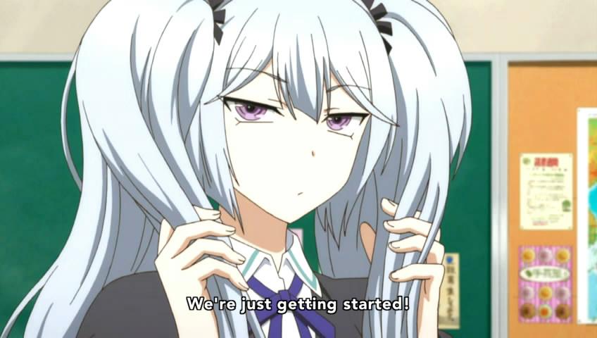 D Frag Anime Characters : Licensed d frag page animesuki forum